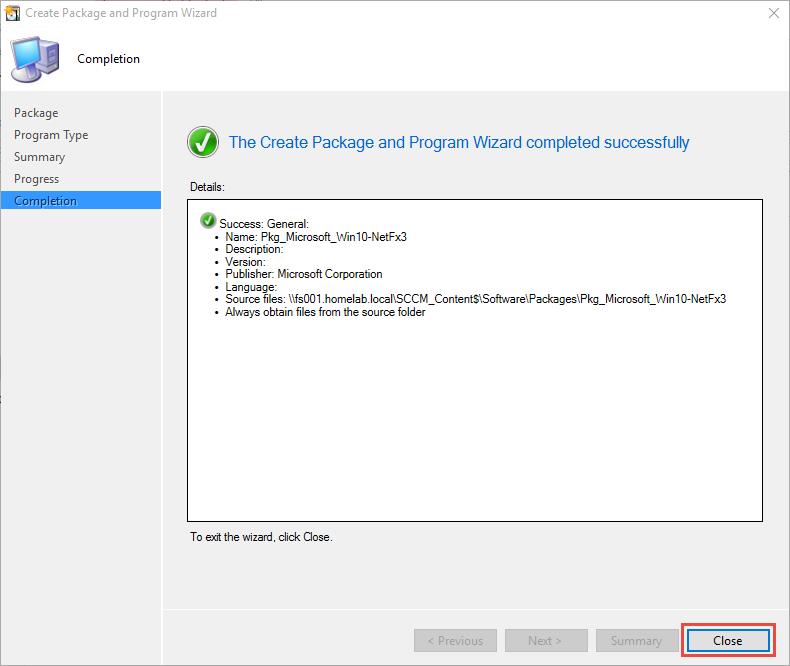 Enabling  NET Framework 3 5 1 in Windows 10 OSD using