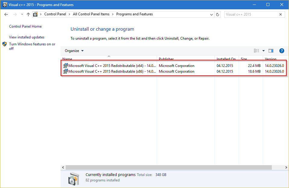 2015-12-04 13_02_35-Visual c++ 2015 - Programs and Features