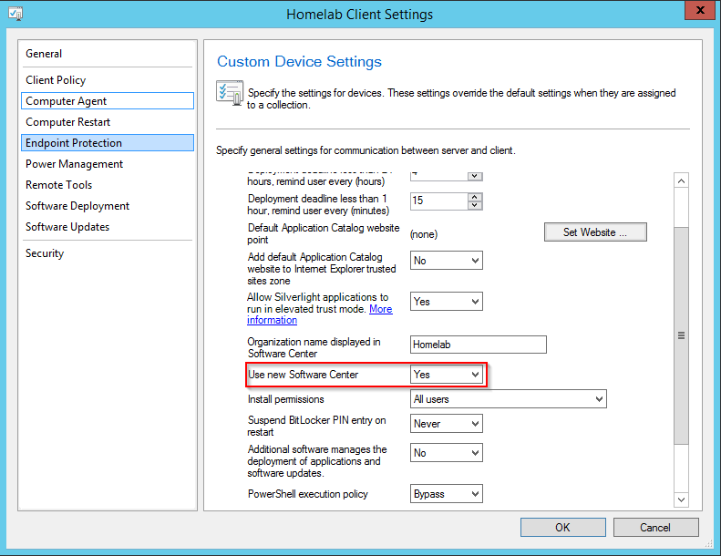 Changing the Color of Software Center in ConfigMgr current