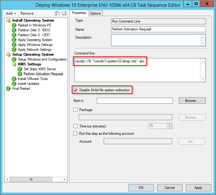Setting a static kms server during osd in configmgr msitproblog when you run the task sequence the next time the specified kms settings will get applied ccuart Images