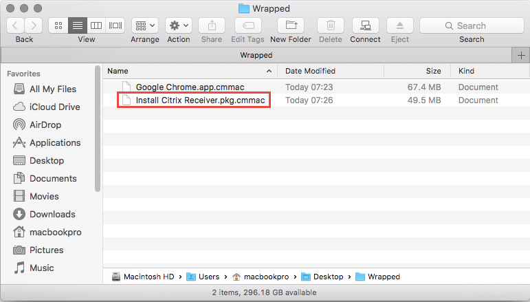 Wrapping Mac OS X Apps using CMAppUtil - msitproblog