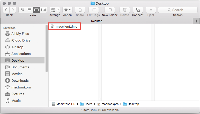 open dmg file on mac os x