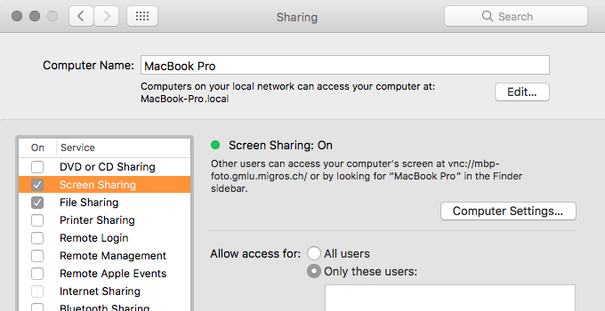 Setting up Remote Control using Parallels Mac Management for