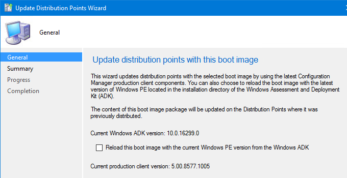 Boot Images and ConfigMgr Client Version mismatch - msitproblog