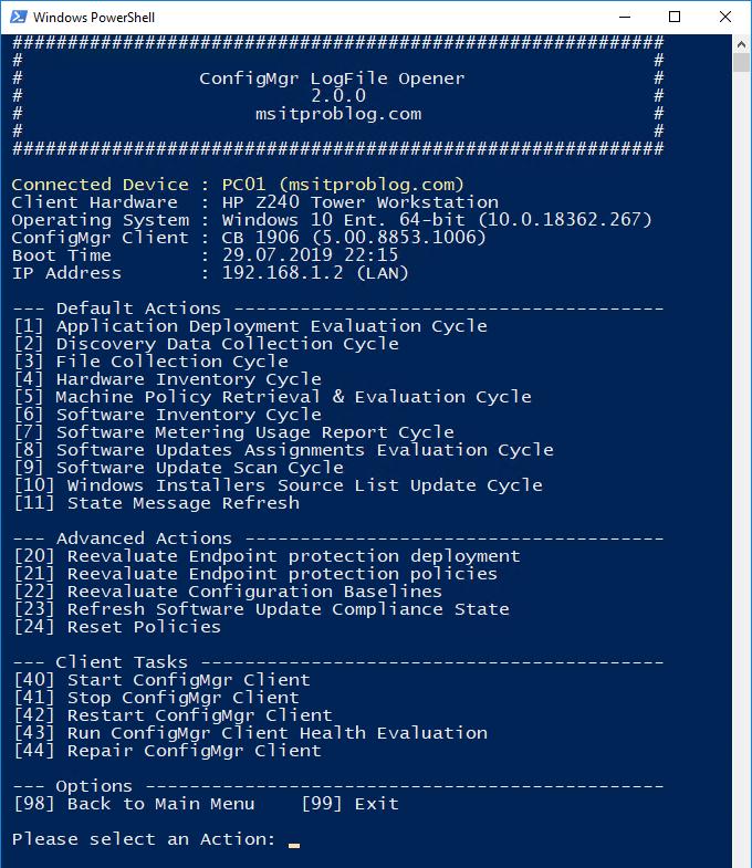 ConfigMgr LogFile Opener released - msitproblog