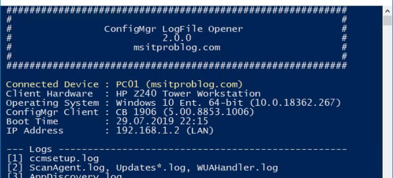 msitproblog - Topics about ConfigMgr, MDT, Intune, App-V